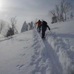 山スキー講習会:八幡平・後生掛温泉〜国見台〜栂森〜後生掛温泉