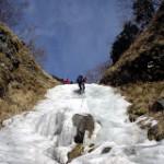 雪上技術訓練:八ヶ岳・ジョウゴ沢