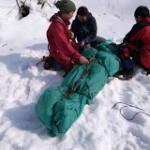 雪山レスキュー訓練:越後・土樽周辺