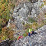 御坂:十二ヶ岳の岩場